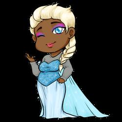 Mini Midnight - Elsa Cosplay by BleachedKitten
