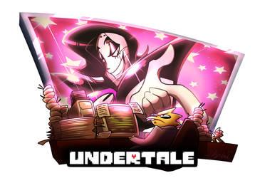 Undertale Fanart Collection 6 :: Mettaton n Alphys by 7-Days-Luck