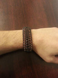 Chainmaille Dragonscale Cuff by Vkarmoury