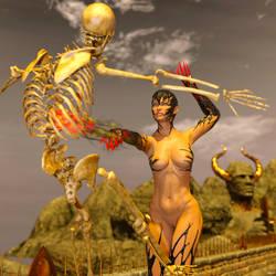 Demoness by AlexArts-3D