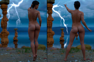 Lightning strike... by AlexArts-3D
