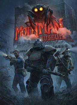 Fallout 76 - Mothman Museum poster by otrixx