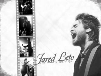 Jared Leto.The moment to fight by loVvelY