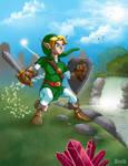 Legend of Zelda by MikeBock