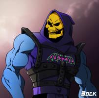 Battle armor Skeletor by MikeBock