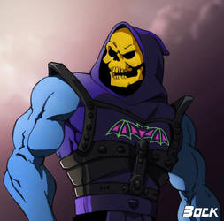 Battle armor Skeletor by MikeBock