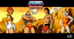 He-Man and Blackstar by MikeBock