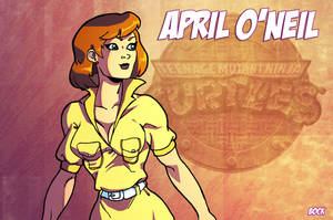 April O'neil by MikeBock