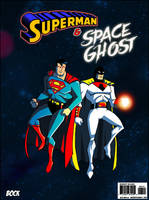 Superman and Space Ghost by MikeBock