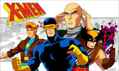 X-Men by MikeBock