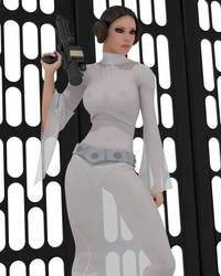 Leia - redux 02 by rapidator