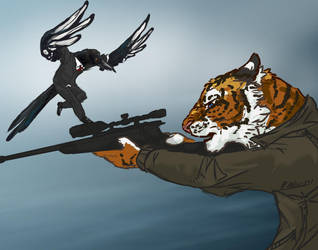 Tiger and Magpie MorMor by ThundersCry