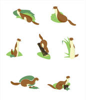 Weasels by AgaReut