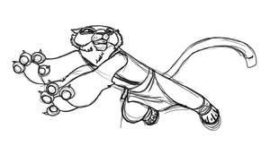 Master Tigress by danidipps