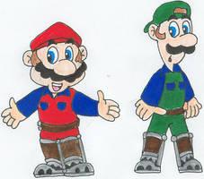 More Mario Movie Mania by nintendomaximus