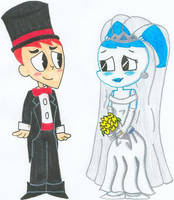 Jenny 'n Brad Get Married 2.0 by nintendomaximus