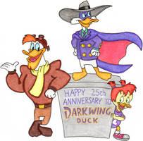 Darkwing Duck's 25th Anniversary by nintendomaximus