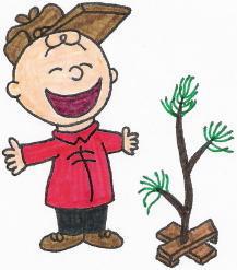Charlie Brown's Xmas Tree by nintendomaximus