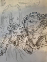 Bioshock sketch by MattyH85