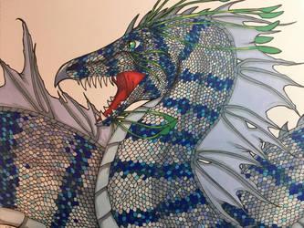 Sea Dragon 1 by totemwolfie