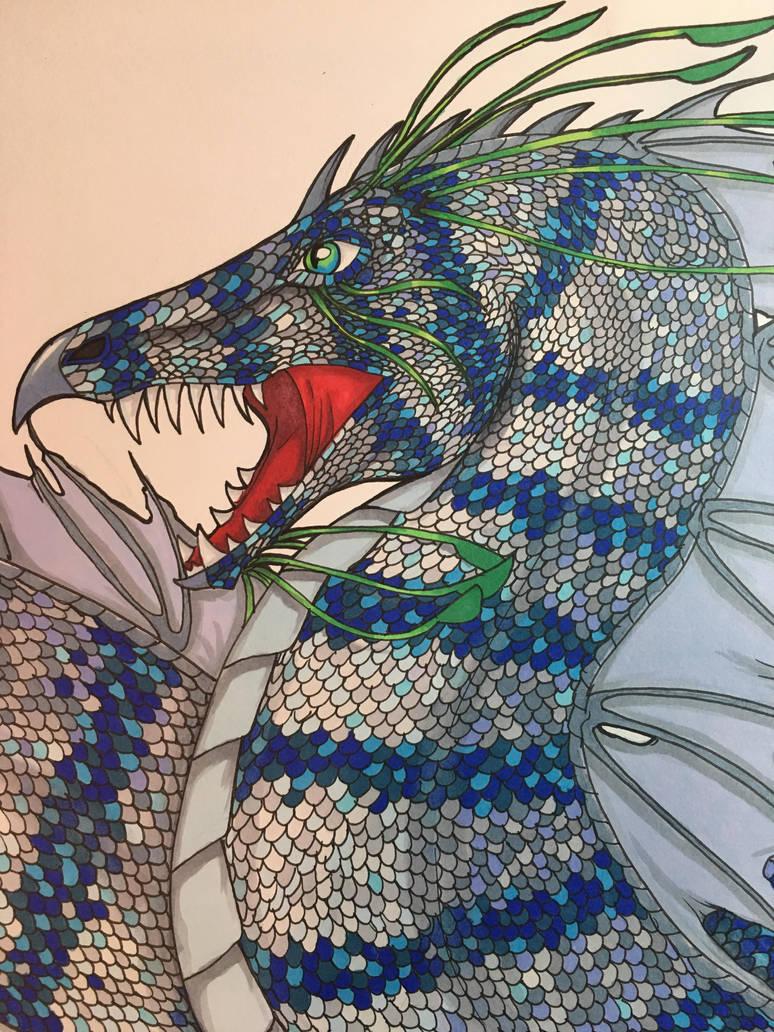 Sea Dragon 2 by totemwolfie