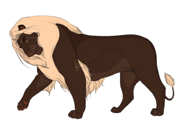 Lion Concept-Art for Native-Heart by Winterfell-KP