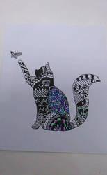 Cat Zendoodle by GraceLee583