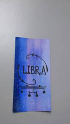 Libra Bookmark by GraceLee583