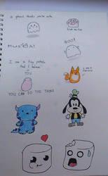 Little doodles by GraceLee583