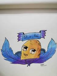 Pot_o_toe Fanart by GraceLee583
