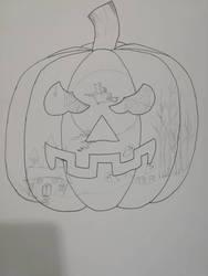 Pumpkin sketch  by GraceLee583