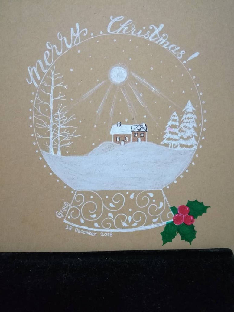 Christmas Snowglobe by GraceLee583