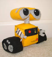 Wall-E Plushie by plushies-by-chrissie