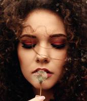 Curly girl portrait by rakicko