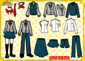MHA U.A. Uniforms by MHA-Admin