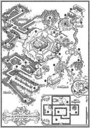 Seelenernte - Plan des Alptraumschlosses by SteffenBrand