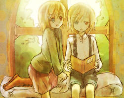 Eliot and Eiza by ikiru-san
