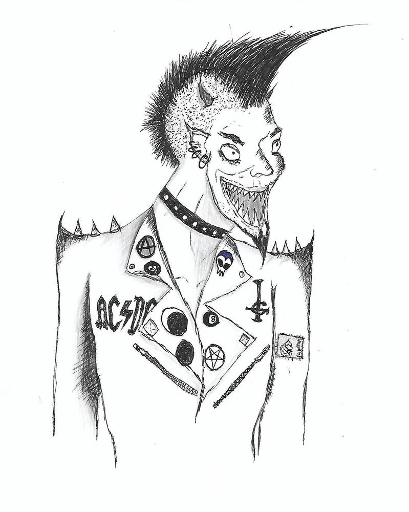 Devilish Punk by Ryuksiner