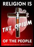 Religion opium of the people by DailyAtheist