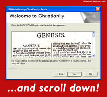Christianity License Agreement by DailyAtheist