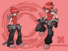 Hiro the cliche RPG hero by Lysol-Jones