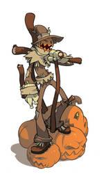 Scarecrow Jones by Lysol-Jones