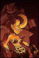 Devil Lady by Lysol-Jones