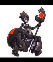 Robot Spider Lady by Lysol-Jones