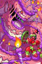 Cake Battle by Lysol-Jones