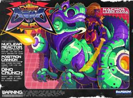 Neo Cyber Dino Squad by Lysol-Jones
