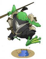 Nin-frog-jitisu by Lysol-Jones