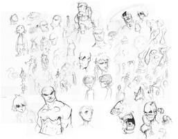 Sketches by Lysol-Jones