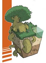 Cube-Tree by Lysol-Jones