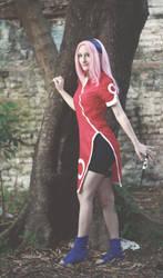 Sakura Haruno by debbiichan